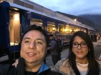 A punto de tomar el tren